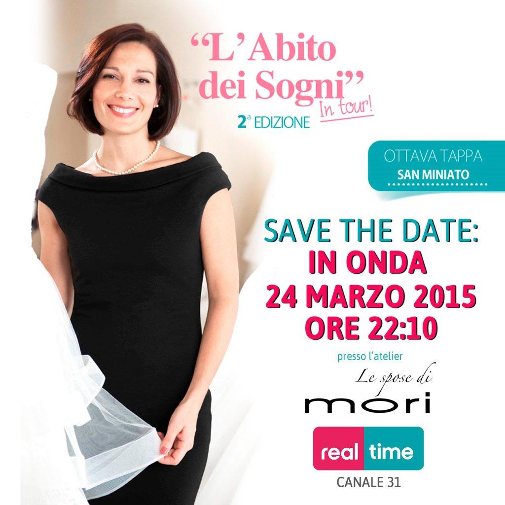 L'abito dei sogni - Real Time ha scelto Le spose di Mori per la Toscana e il Centro Italia