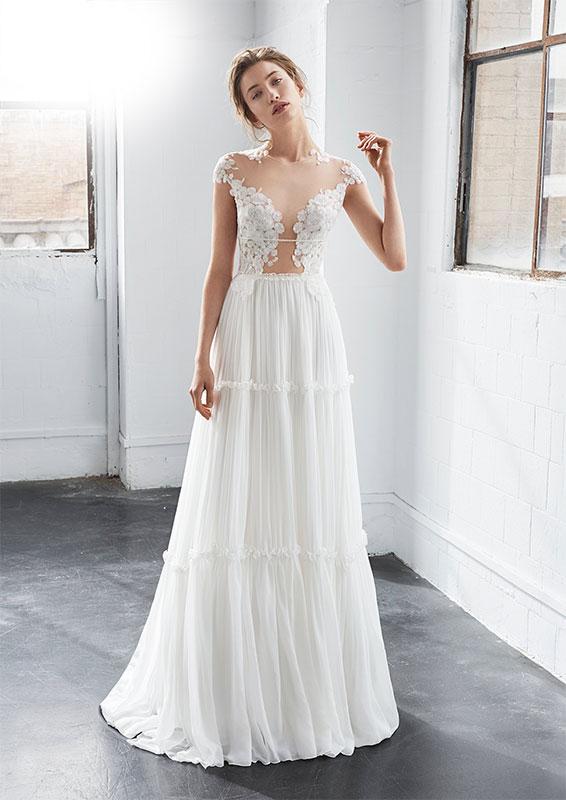 Vestiti da sposa country chic roma