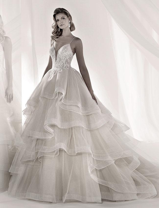 Nicole Luxury LXAB19015 Abito Sposa 2019