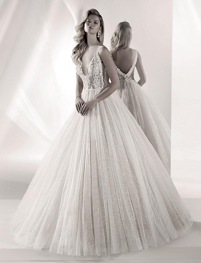 Nicole Luxury LXAB19021 Abito Sposa 2019