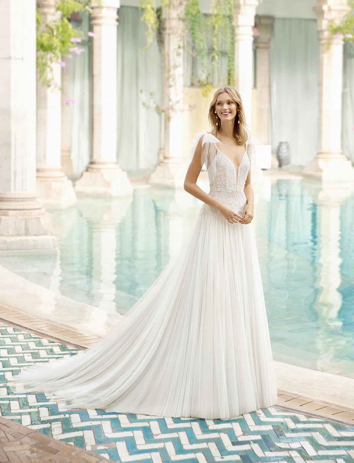 Rosa Clarà Couture Romance Abito Sposa 2020