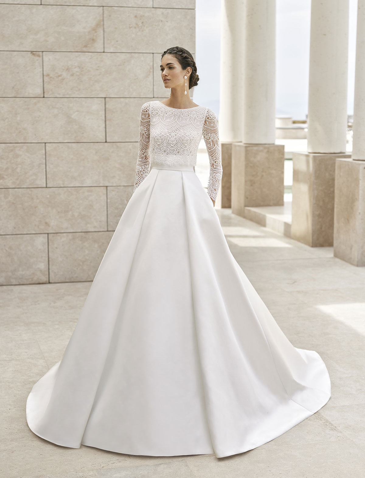 Rosa Clarà Couture Sandy Abito Sposa 2020