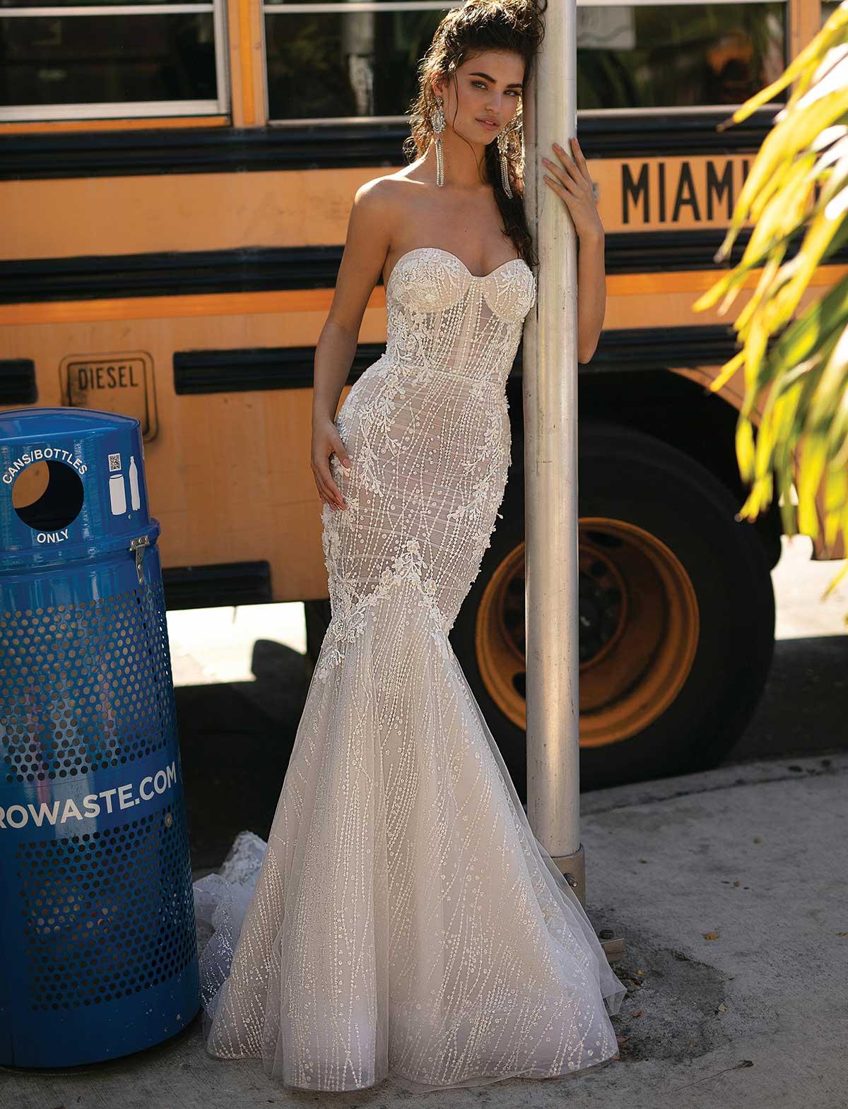 Berta Bridal 19-08 Abito Sposa