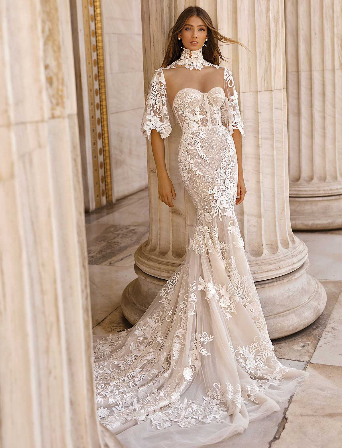 Berta Bridal 19-103 Abito Sposa