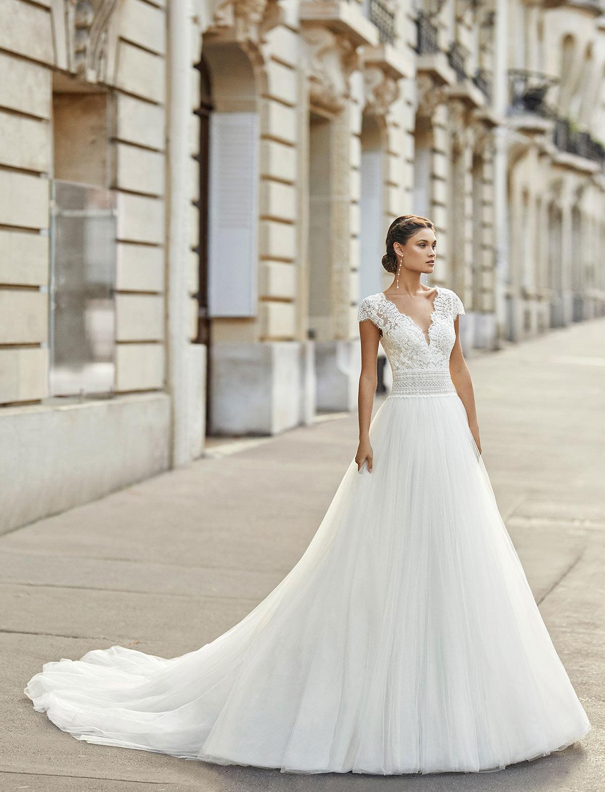 Rosa Clarà Tesalia Abito Sposa 2021