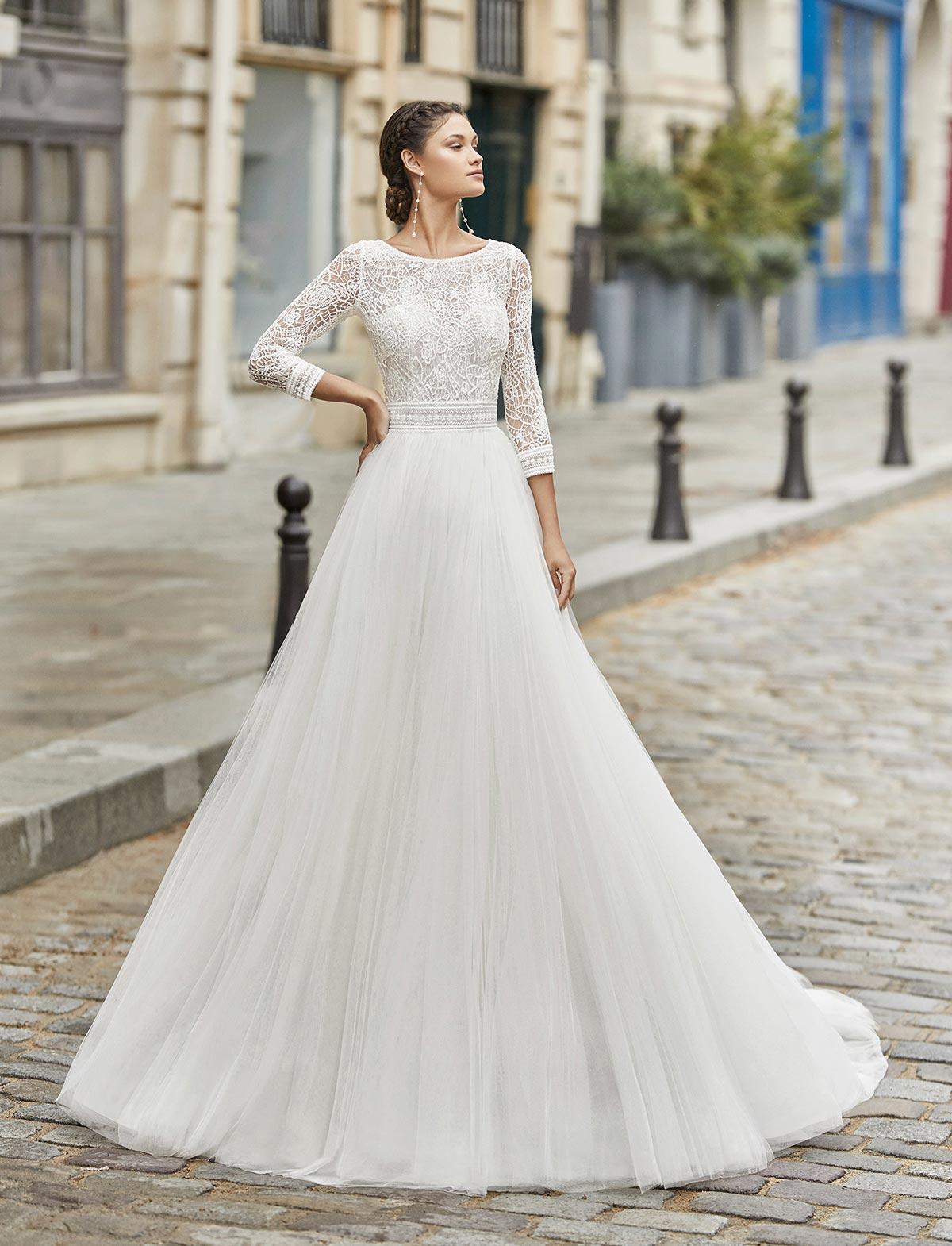 Rosa Clarà Tirso Abito Sposa 2021