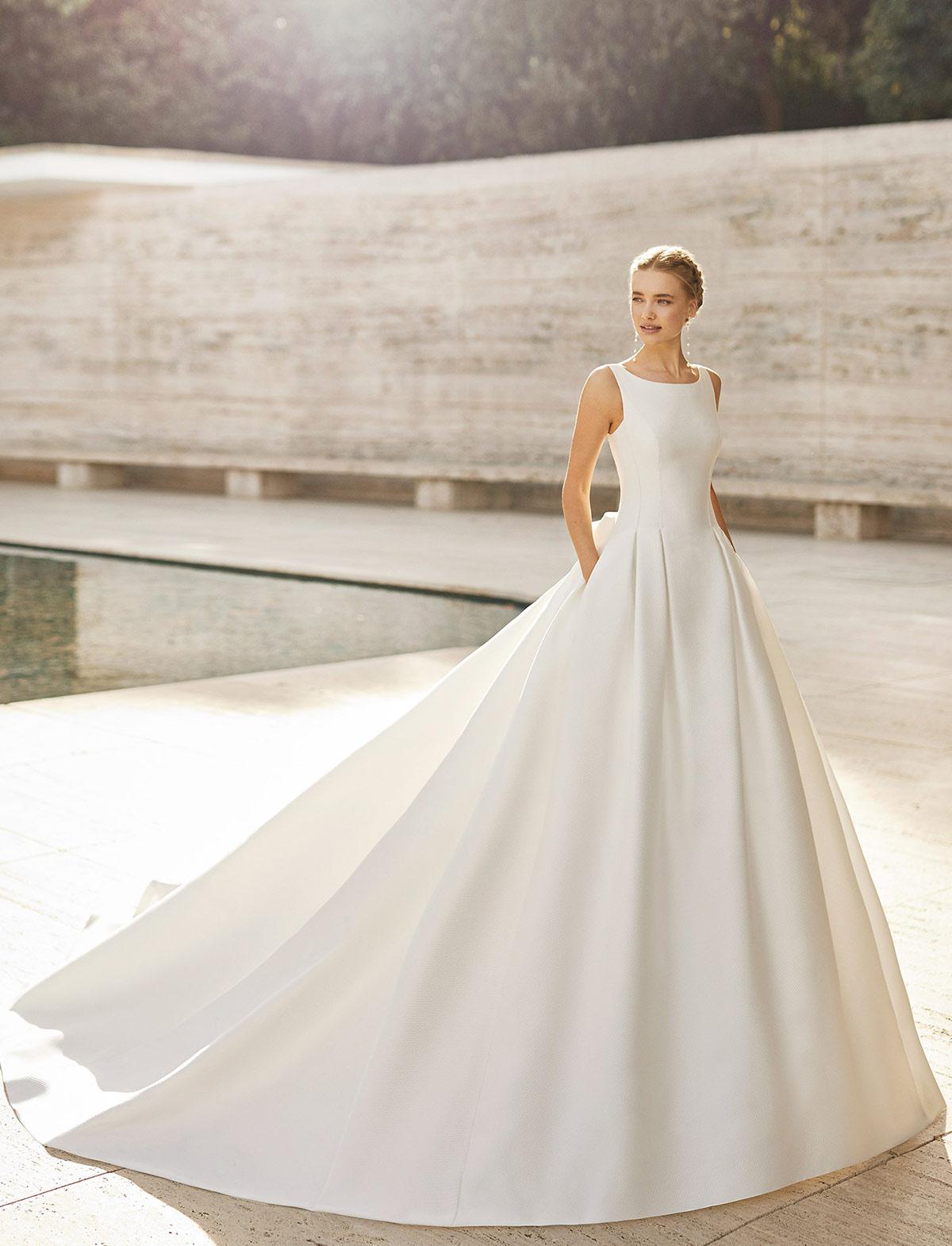 Rosa Clarà Couture Elaine Abito Sposa 2021