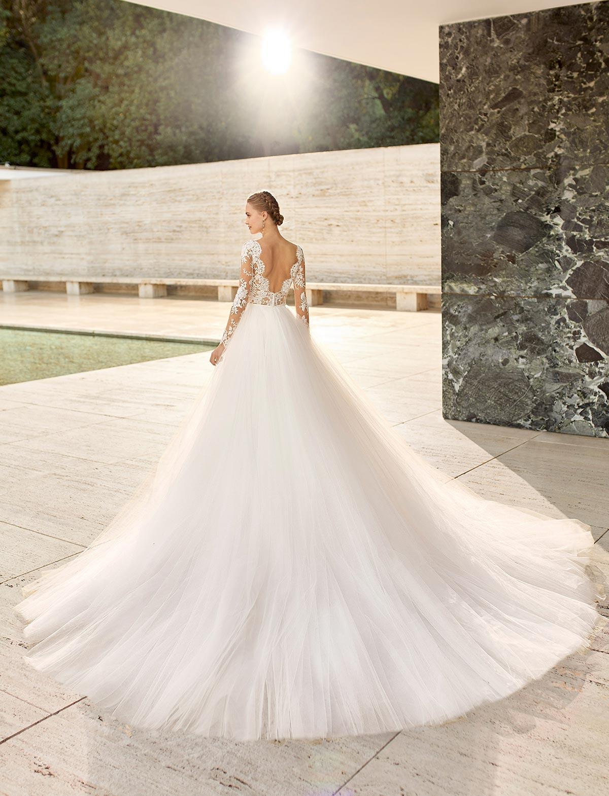 Rosa Clarà Couture Niher Abito Sposa 2021